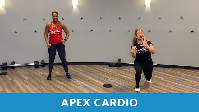 APEX CARDIO 40 with JoAnne and Sam (L...
