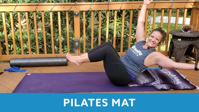45 Min Pilates Mat with Morgan (LIVE Friday 10/9 @ 10:00 am EST)