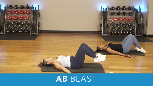 Transformation Challenge - (Week 6 Workout 2) Ab Blast with JoJo and Sam