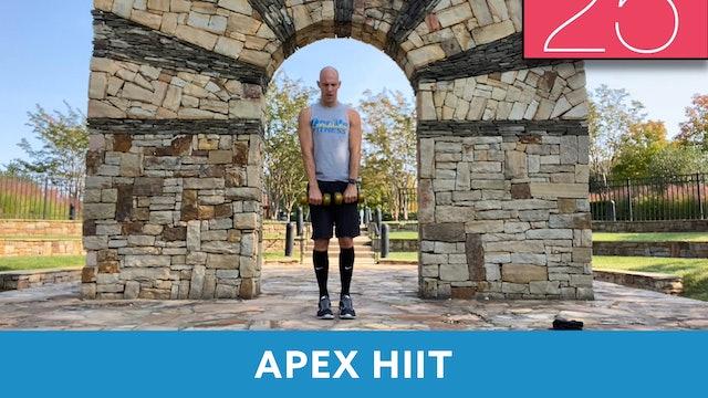APEX HIIT #34 with Bob (LIVE Friday 10/9 @ 7:00am EST)