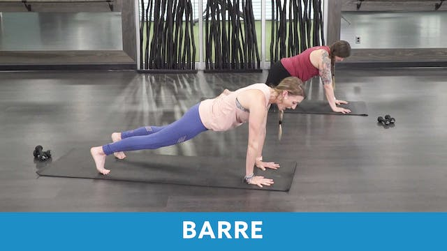 Barre #2 with Carlie and Erin