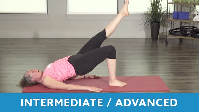 Intermediate & Advanced Pilates Exercises with Juli
