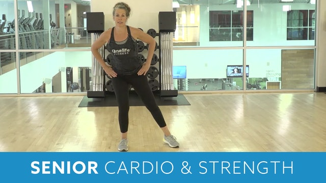 Senior Fitness Cardio, Strength & Floor Core with Juli