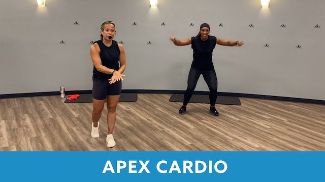 August is for APEX Cardio with JoJo and Sam