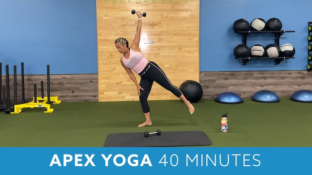 Transformation Challenge - (Week 1 Workout 1) APEX YOGA  #11 with JoJo