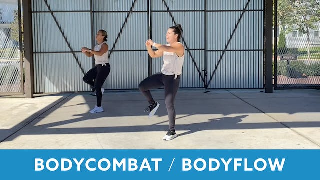 TONE UP 21 WEEK 8 - BODYCOMBAT 30 & B...