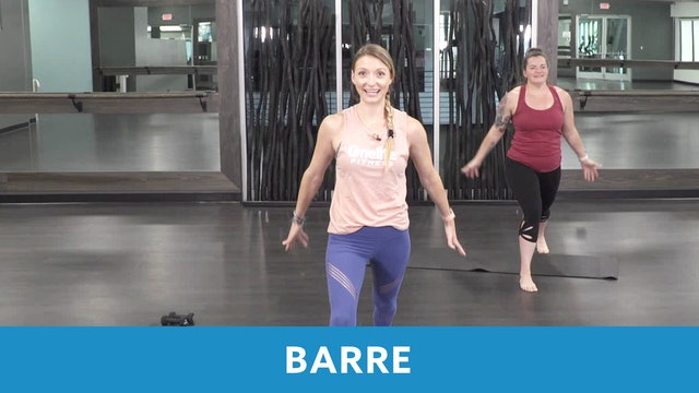 Barre with Carli and Erin