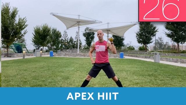 APEX HIIT #22 with Bob (LIVE Friday 9/11 @ 7:00am EST)