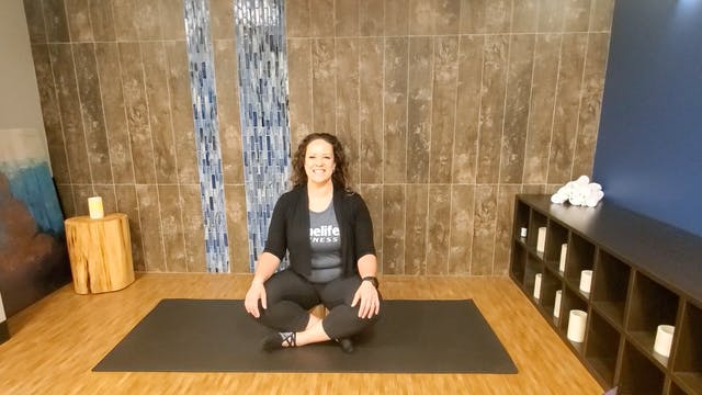 Yin Yoga - 2 Blocks with Morgan (LIVE...