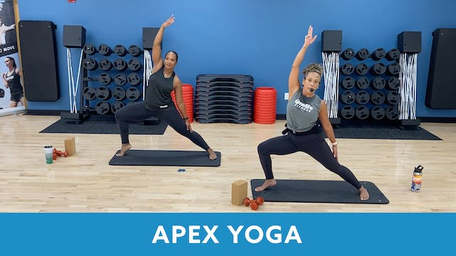 TONE UP 21 WEEK 2 - APEX YOGA  #10 wi...