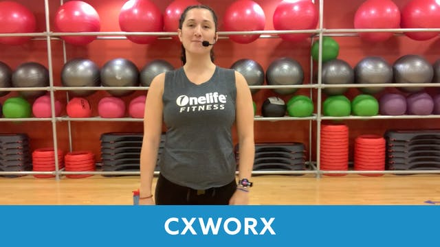 CXWORX with Nathalia
