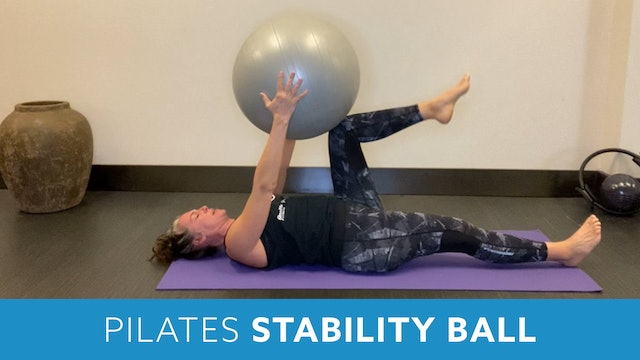 Pilates with Stability Ball with Juli (LIVE Monday 11/30 @ 10am EST)