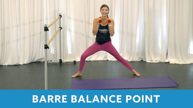 TONE UP 21 WEEK 1 - Barre with Carli