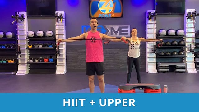 Day 5 - Advanced HIIT+Upper Body with...