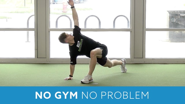 No Gym No Problem (Explosive Performance) 15 minute workout with Sam G.