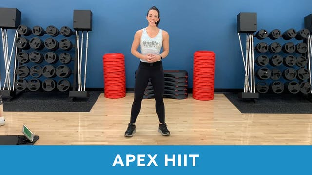 14Day Challenge Day 1 -  APEX HIIT wi...