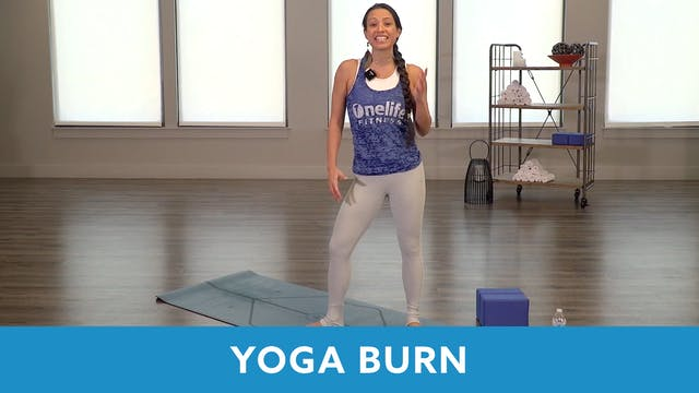 Yoga Burn with Nina (LIVE Wednesday 1...