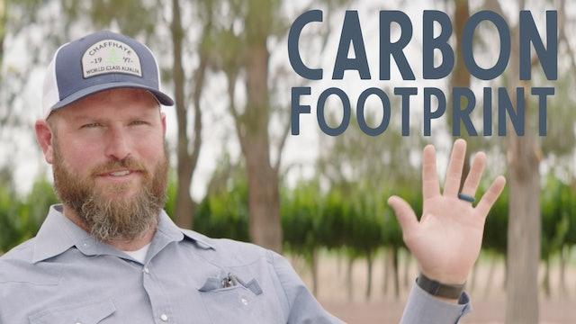 Jay: Carbon Footprint