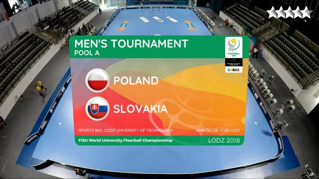LIVE - Floorball - POL vs SVK - FISU ...
