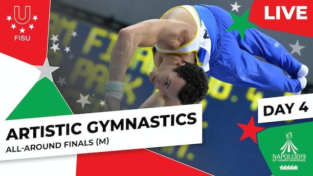 Artistic Gymnastics | All-Around Finals (M) |Summer Universiade 2019