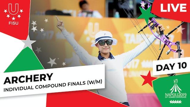Archery | Individual Compound Finals (W/M) |Summer Universiade 2019