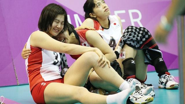 JPN vs. RUS (Women's Volleyball Final)   Taipei 2017   #UniSportsClassics