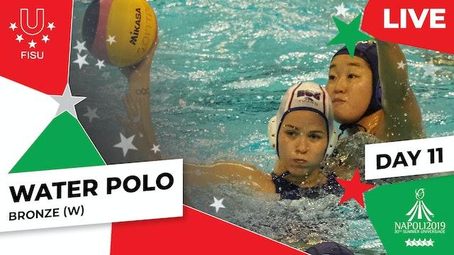Water Polo   Bronze (W)  Summer Universiade 2019