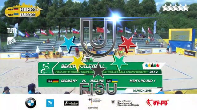 Beach Volleyball - Round 1 - Day 2 - ...