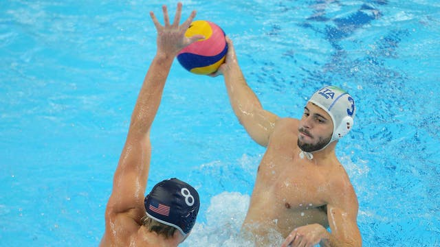 ITA vs. USA (Men's Waterpolo Final) |...