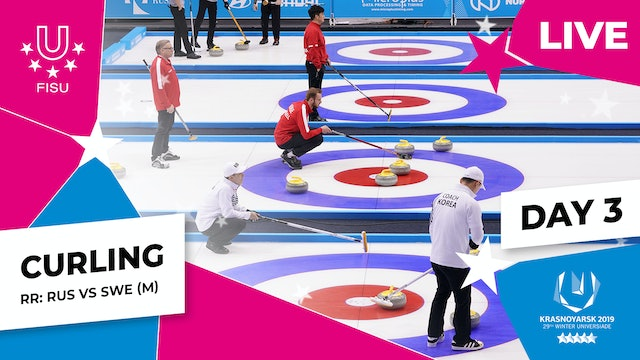 Curling | Men's Round Robin – RUS vs SWE
