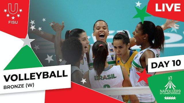 Volleyball | Bronze (W) |Summer Universiade 2019