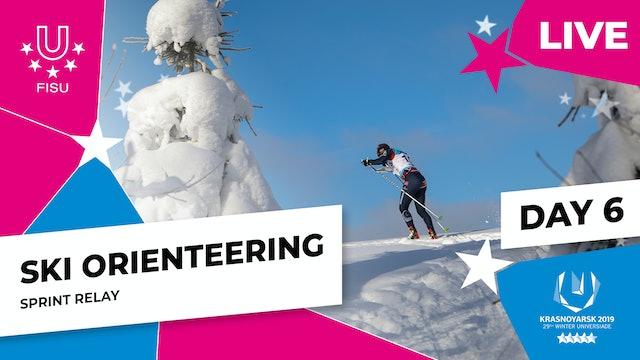 Ski Orienteering | Sprint Relay | Winter Universiade 2019