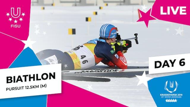 Biathlon | Men's Pursuit 12.5km | Win...