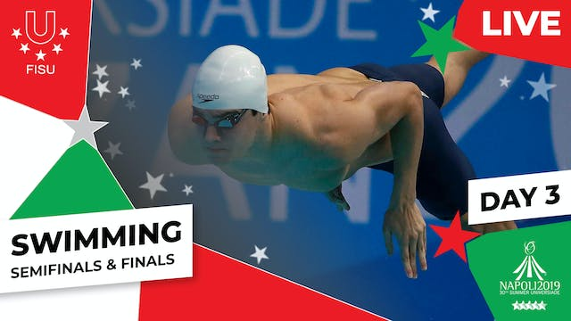 Swimming | Day 3 Semifinals & Finals ...