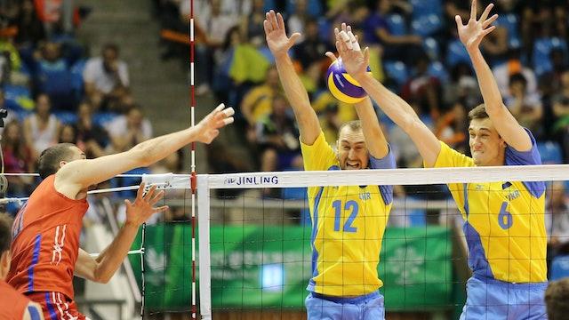 RUS vs. UKR (Men's Volleyball Final)   Gwangju 2015   #UniSportsClassics