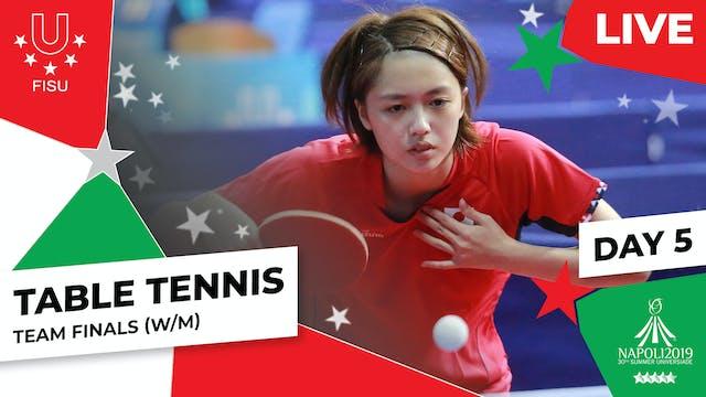 Table Tennis | Team Finals (W/M) |Su...
