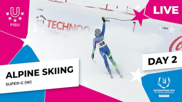 Alpine Skiing | Women's Super-G | Win...