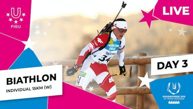 Biathlon | Women's Individual 15km |...