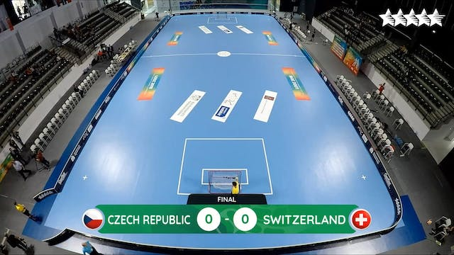 Floorball – Men Final - Czech Republi...