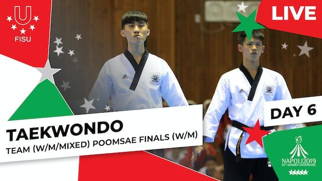 Taekwondo | Team (W/M/Mixed) Poomsae Finals |Summer Universiade 2019