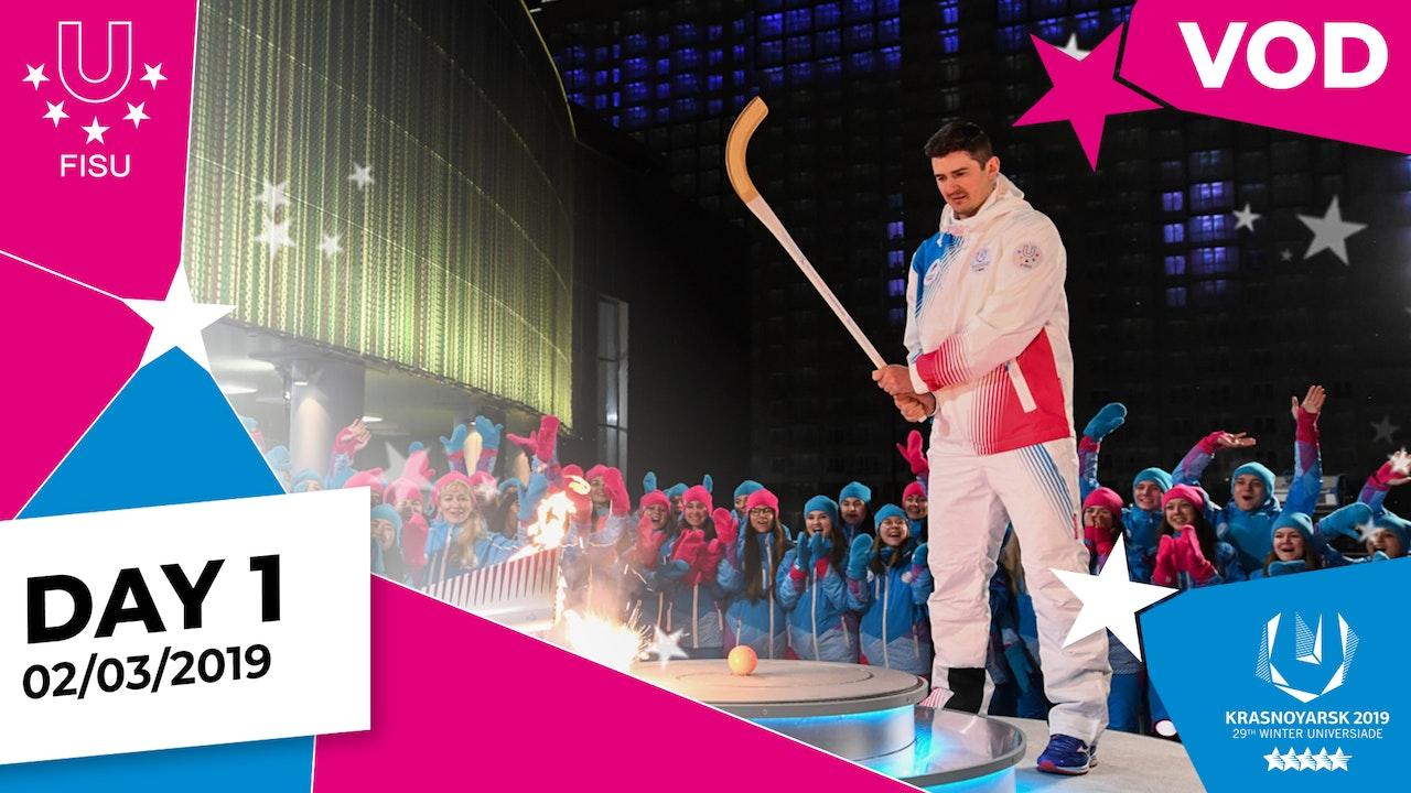 Day 1 | Krasnoyarsk 2019 Winter Universiade | #RealWinter
