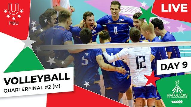 Volleyball | Quarterfinal #2 (M) |Su...
