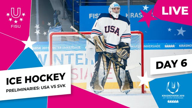 Ice Hockey | Men's Preliminaries – US...