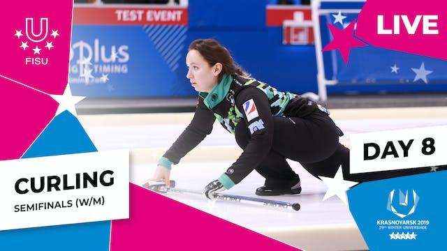 Curling   Women's SF – SWE vs GBR   W...