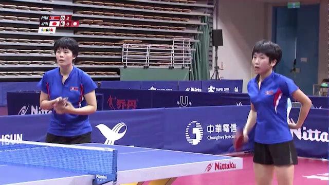 Table Tennis: Women's Double Final