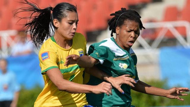 BRA vs. RSA (Women's Football Third Place) | Kazan 2013 | #UniSportsClassics