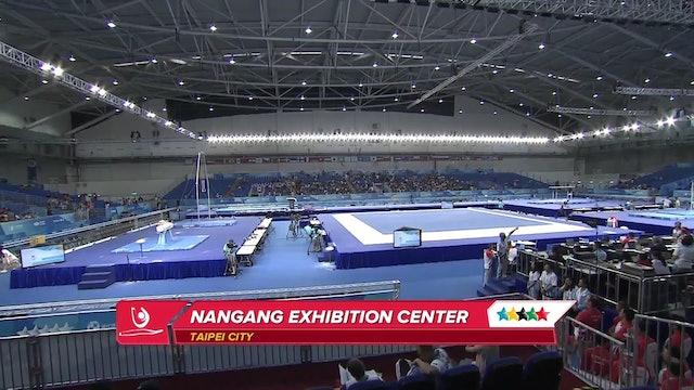Artistic Gymnastics: M Team Finals & Ind Q, sub V