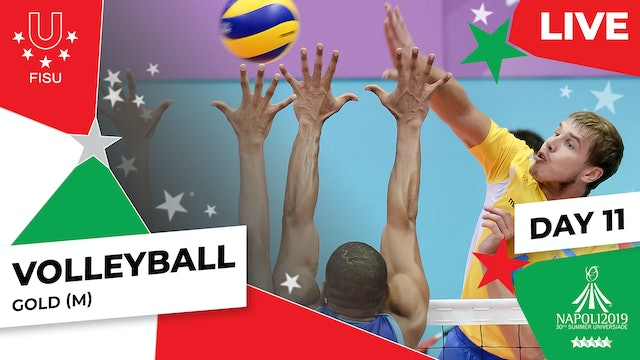 Volleyball | Gold (M) | Summer Universiade 2019