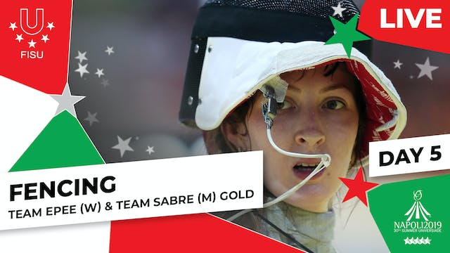 Fencing | Team Epee (W) & Team Sabre ...