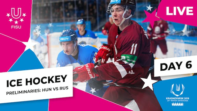 Ice Hockey | Men's Preliminaries – HU...